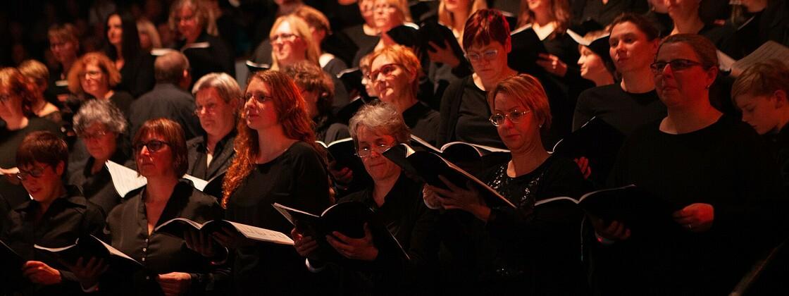 Chor MLK-Aufführung Hamburg