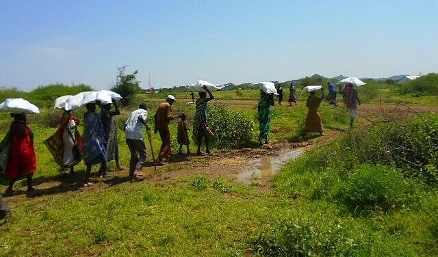 Südsudan: Transport der Hilfsgüter