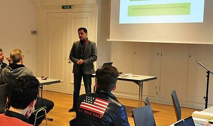 Konsultationstag Deutsch-Persische Gemeindeentwicklung Omid Homayouni