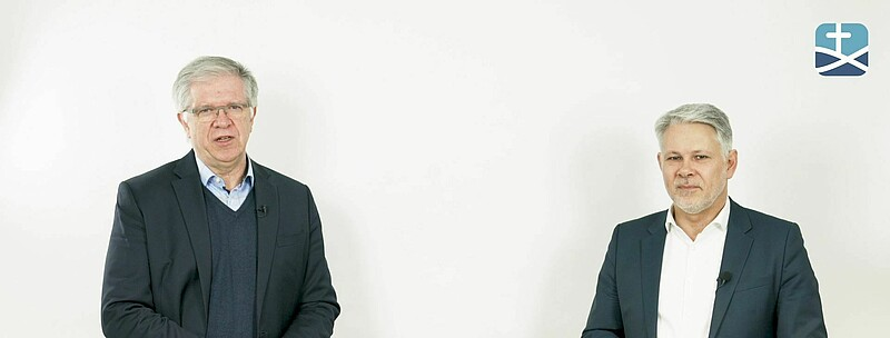 Michael Noss und Christoph Stiba