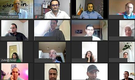 Online-Konferenz für Farsisprachige Juni 2020