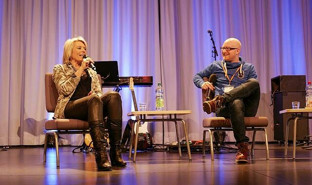 Sibylle Beck im Gespräch mit Jonathan Walzer