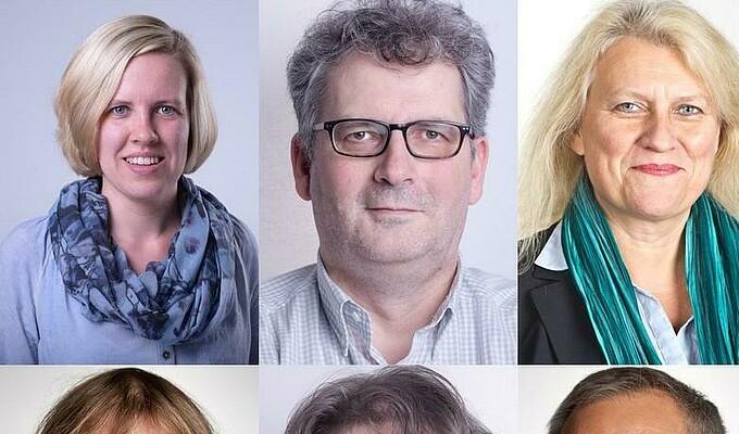BEFG Mitarbeiter Collage