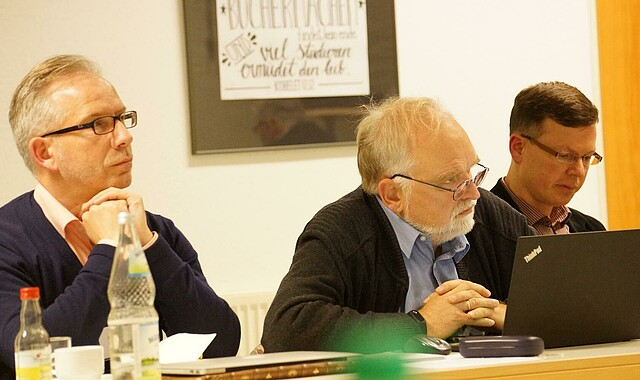 Vorstandsmitglied Frank Uphoff (M.)