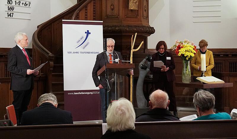 Bericht vom Auftakt in Hamburg: 500 Jahre Täuferbewegung