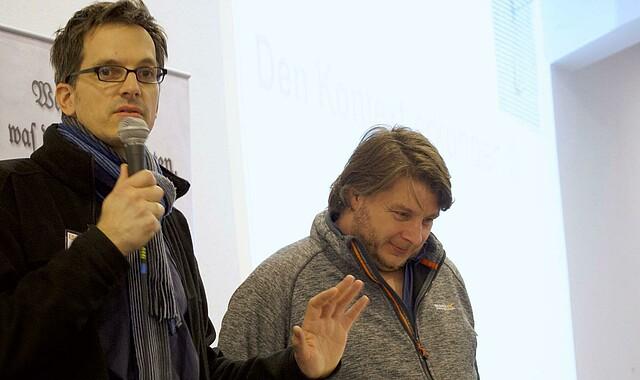André Peter und Christopher Rinke