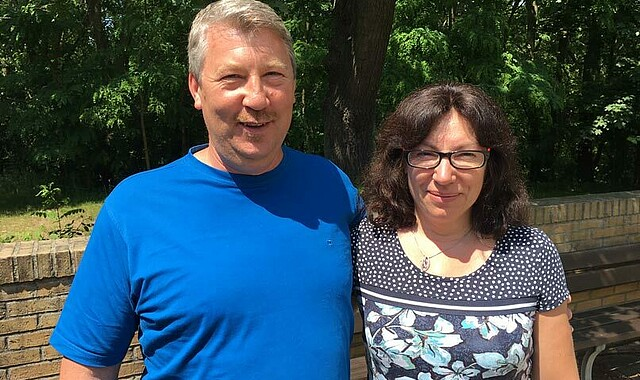 Willi und Natscha Folz