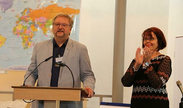 Joachim Gnep und Petra Klatt