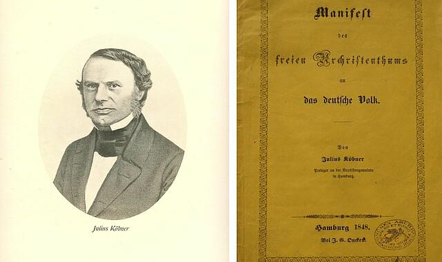 Julius Köbner, Titel Originalausgabe Manifest
