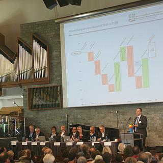 Volker Springer erklärt den Bundeshaushalt