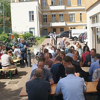 Mittagspause im Freien